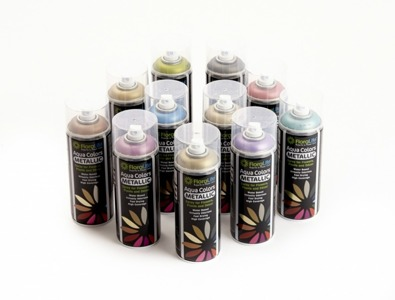 Floralife® Aqua Color spray Metallic